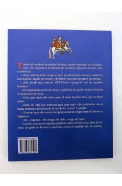 Contracubierta de BÁRBAROS EL SUEÑO DE JOHN BALL (William Morris) Barataria 2007