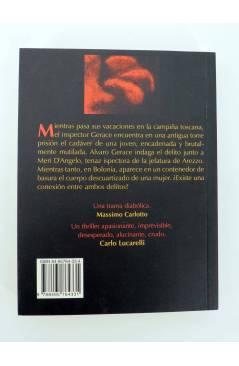 Contracubierta de BÁRBAROS ITALIA SERIE NEGRA NO APAGUES LA LUZ (Stefano Tura) Barataria 2005