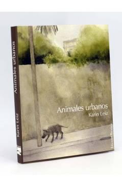 Cubierta de COL BÁRBAROS. ANIMALES URBANOS (Karin Leiz) Barataria 2004