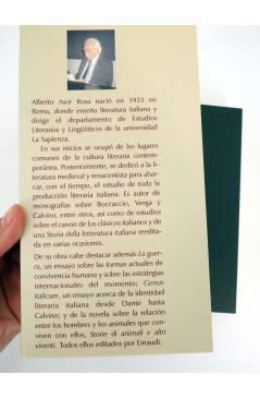 Muestra 1 de COL BÁRBAROS. EL ALBA DE UN MUNDO NUEVO (Alberto Asor Rosa) Barataria 2016