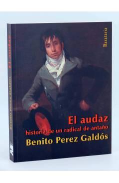 Cubierta de COL BÁRBAROS. EL AUDAZ (Benito Pérez Galdós) Barataria 2013