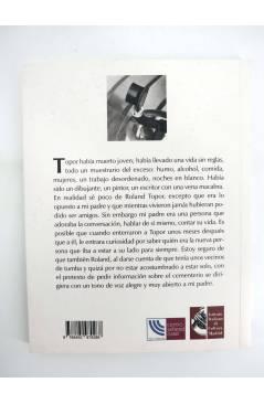 Contracubierta de COL BÁRBAROS. EL PADRE FRANCES (Alain Elkann) Barataria 2012