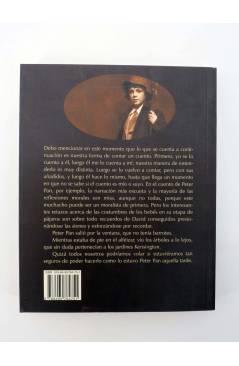 Contracubierta de COL BÁRBAROS. EL PAJARITO BLANCO (James Matthew Barrie) Barataria 2009