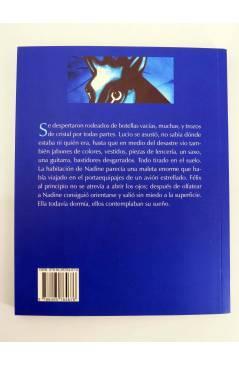 Contracubierta de COL BÁRBAROS. EL PUENTE DE LA JIRAFA (Pablo Manzano) Barataria 2008