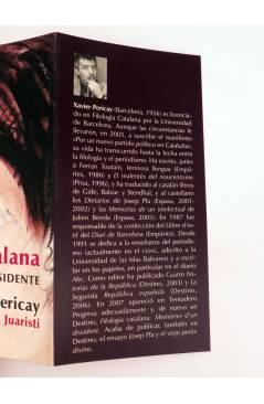 Muestra 1 de FILOLOGIA CATALANA: MEMORIAS DE UN DISIDENTE (Xavier Pericay) Barataria 2009