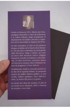 Muestra 1 de COL BÁRBAROS. HISTORIAS DE ANIMALES Y OTRAS VIDAS (Alberto Asor Rosa) Barataria 2006