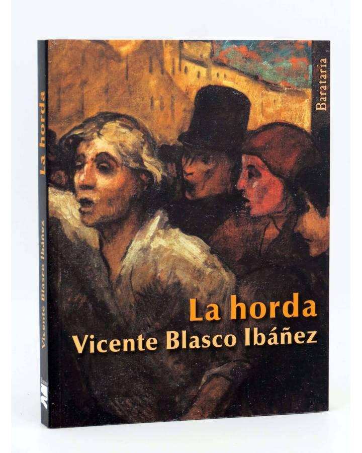 Cubierta de COL BÁRBAROS. LA HORDA (Vicente Blasco Ibáñez) Barataria 2013