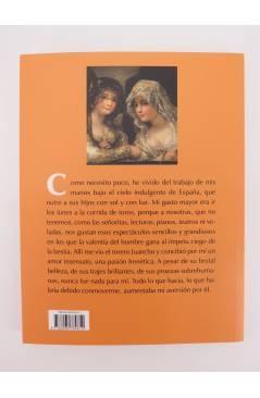 Contracubierta de COL BÁRBAROS. LA MAJA Y EL TORERO (Théophile Gautier) Barataria 2011