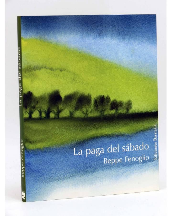 Cubierta de COL BÁRBAROS. LA PAGA DEL SABADO (Beppe Fenoglio) Barataria 2006