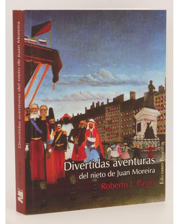 Cubierta de COL BÁRBAROS. LAS DIVERTIDAS AVENTURAS DEL NIETO DE JUAN MOREIRA (Roberto J. Payró) Barataria 2007