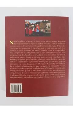 Contracubierta de COL BÁRBAROS. LAS DIVERTIDAS AVENTURAS DEL NIETO DE JUAN MOREIRA (Roberto J. Payró) Barataria 2007