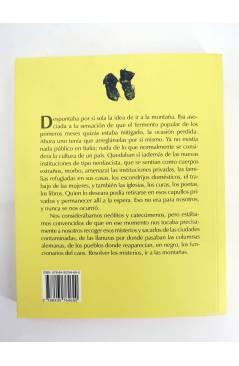 Contracubierta de COL BÁRBAROS. LOS PEQUEÑOS MAESTROS (Luigi Meneghello) Barataria 2008