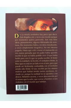 Contracubierta de COL BÁRBAROS. NOVELA VERDADERA (J. Chiabrando) Barataria 2013