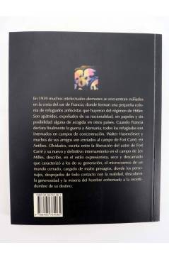 Contracubierta de COL BÁRBAROS. OLVIDADOS (Walter Hasenclever) Barataria 2002