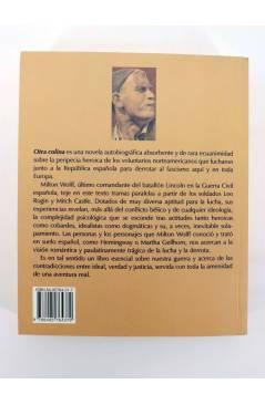 Contracubierta de COL BÁRBAROS. OTRA COLINA (Milton Wolff) Barataria 2005