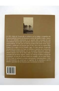 Contracubierta de QUINCE DÍAS EN LAS SOLEDADES AMERICANAS (Alexis De Tocqueville) Barataria 2004
