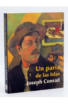 Cubierta de COL BÁRBAROS. UN PARIA DE LAS ISLAS (Joseph Conrad) Barataria 2011