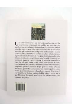 Contracubierta de COL BÁRBAROS. UN PASEANTE EN NUEVA YORK (Alfred Kazin) Barataria 2009