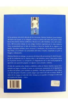 Contracubierta de COL BÁRBAROS. UN POCO MAS DE AZUL (Manuel Reguera Saumell) Barataria 2004