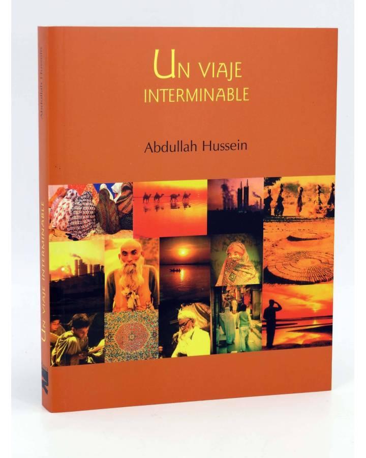 Cubierta de COL BÁRBAROS. UN VIAJE INTERMINABLE (Abdullah Hussein) Barataria 2003