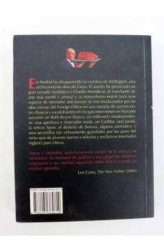 Contracubierta de COL MAR NEGRO. NO ME APUNTES CON ESO (Kyril Bonfiglioli) Barataria 2007
