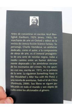 Muestra 1 de COL MAR NEGRO. NO ME APUNTES CON ESO (Kyril Bonfiglioli) Barataria 2007