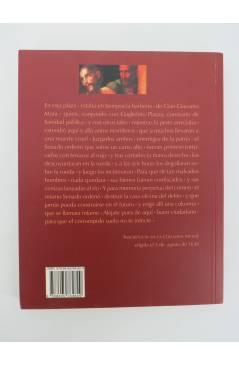 Contracubierta de COL. INFERNO. HISTORIA DE LA COLUMNA INFAME (Alessandro Manzoni) Barataria 2008