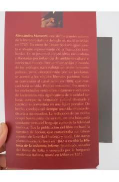 Muestra 1 de COL. INFERNO. HISTORIA DE LA COLUMNA INFAME (Alessandro Manzoni) Barataria 2008