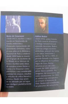 Muestra 1 de COL. UNO MÁS UNO. COLORES (Remy De Gourmont / Odilon Redon) Barataria 2009