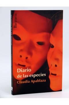 Cubierta de DIARIO DE LAS ESPECIES (Claudia Alpablaza) Barataria 2010