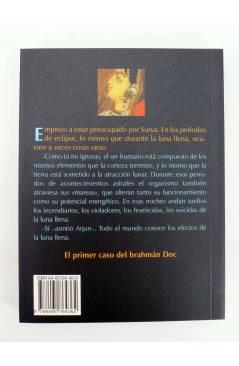 Contracubierta de ECLIPSE EN MADRAS (Sarah Dars) Barataria 2005