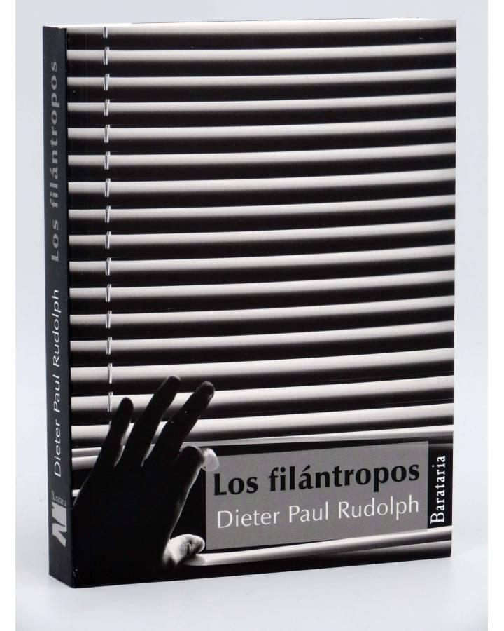 Cubierta de LOS FILANTROPOS (Dieter Paul Rudolph) Barataria 2011