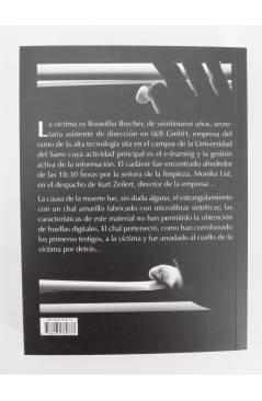 Contracubierta de LOS FILANTROPOS (Dieter Paul Rudolph) Barataria 2011