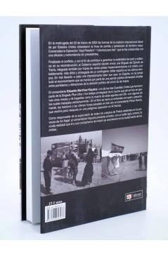 Contracubierta de LEGENDI. RECUERDOS DE IRAK (Eduardo Martínez Viqueira) Quirón 2005