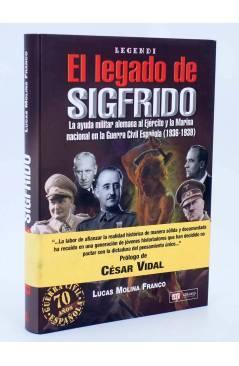 Cubierta de LEGENDI. EL LEGADO DE SIGFRIDO (Lucas Molina Franco) Quirón 2005