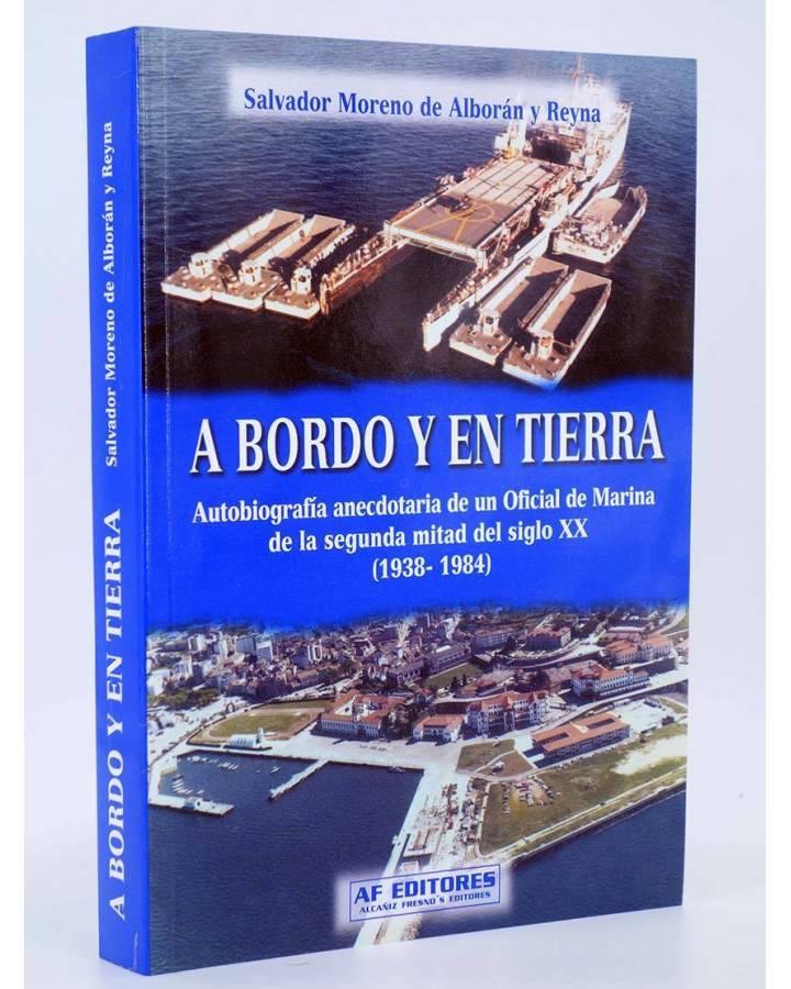 Cubierta de A BORDO Y EN TIERRA (Salvador Moreno De Alborán Y Reyna) Quirón 2007