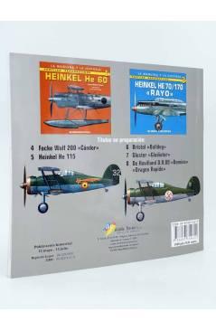 Contracubierta de LA MÁQUINA Y LA HISTORIA PERFILES AERONAÚTICOS 2. HENSCHEL HS 123 (Lucas Molina Franco / Luis Fresno C