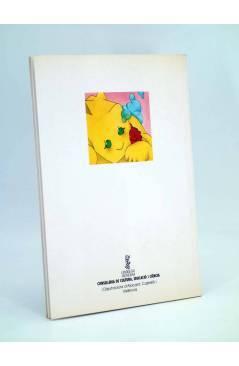 Contracubierta de UN DRAC MÍNIM (Anna Miró Bardisa / Rosa Anna Crespo / Quique Soler) Generalitat Valenciana 1989