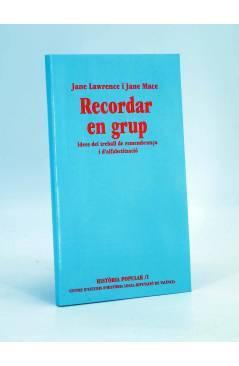 Cubierta de RECORDAR EN GRUP IDEES DEL TREBALL DE REMEMBRANÇA I D'ALFABETITZACIÓ (J Lawrence / J Mace) DPV 1995