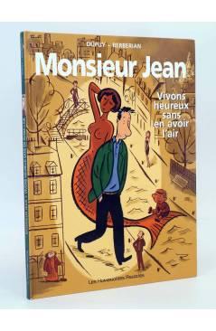 Cubierta de MONSIEUR JEAN 2. LES NUITS LES PLUS BLANCHES (Dupuis / Berberian) Les Humanoides Associés 1997