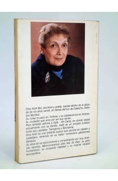 Contracubierta de CISCA LA MONJA O EL COMPLETO DE CLEOPATRA (Dina Ardir Bel) Amarantos 1989