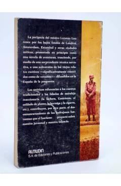 Contracubierta de CONCIERTO SALVAJE. DEDICATORIA AUTÓGRAFA DEL AUTOR (Fernando Arias) Almudín 1979