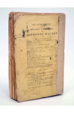 Contracubierta de LA PETITE PAROISSE MOEURS CONJUGALES (Alphonse Daudet) Alphonse Lemere 1895