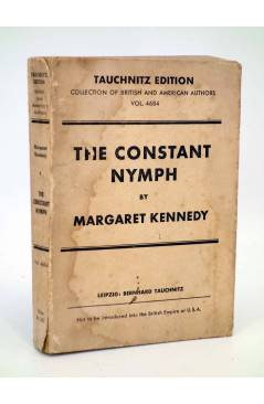 Cubierta de THE CONSTANT NYMPH (Margaret Kennedy) Leipzig Berhard Tauchnitz s/f