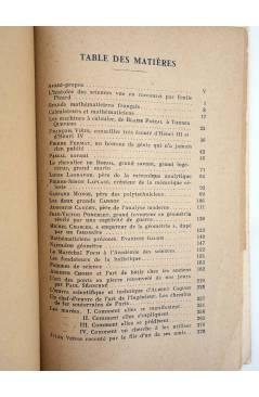 Muestra 1 de HOMMES ET CHOSES DE SCIENCE. PROPOS FAMILIERS (Maurice D'Ocagne) Vuibert 1930