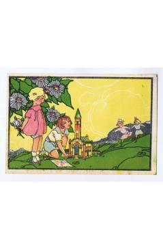 Cubierta de LITOGRAFÍA JUGUETE ARQUITECTURA INFANTIL 15X10 cm (No Acreditado) Archer 1950