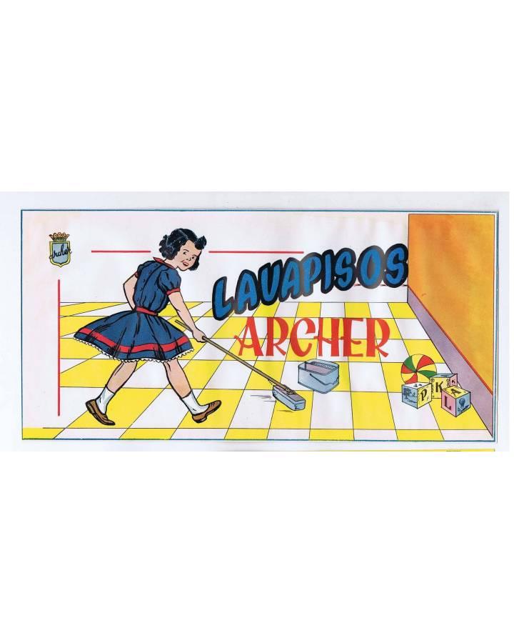 Cubierta de LITOGRAFÍA JUGUETE LAVAPISOS (No Acreditado) Archer 1950