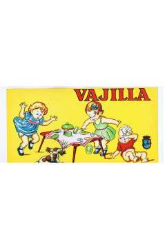 Cubierta de LITOGRAFÍA JUGUETE VAJILLA (No Acreditado) Archer 1950