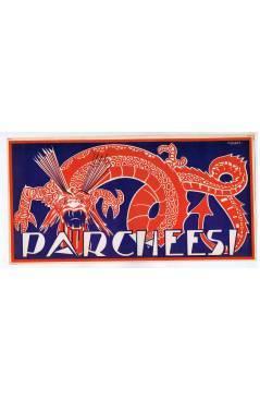 Cubierta de LITOGRAFÍA JUGUETE PARCHEESI – PARCHIS 345X175. DIBUJO DE CONESA (No Acreditado) Archer 1950