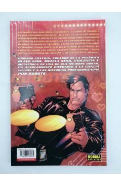 Contracubierta de EL DÍA DESPUÉS 11. CITY OF TOMORROW (Howard Chaykin) Norma 2006